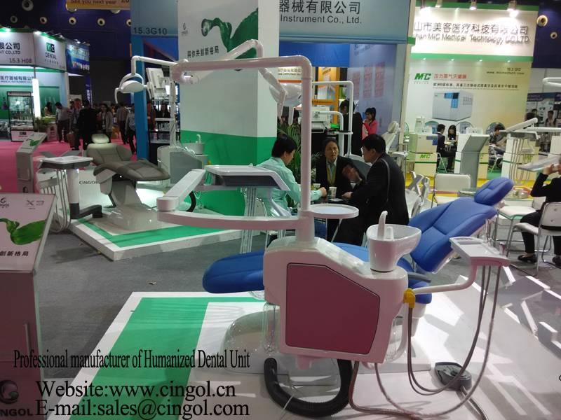 China Cingol humanized dentist chairs user friendly dental unit X3