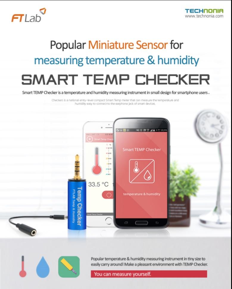 Smart TEMP Checker (temperature, humidity measuring instrument)