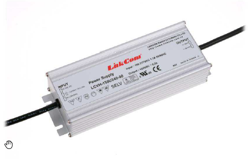 LinkCom, 5W-300W Constant Current LED Power supply, IP67