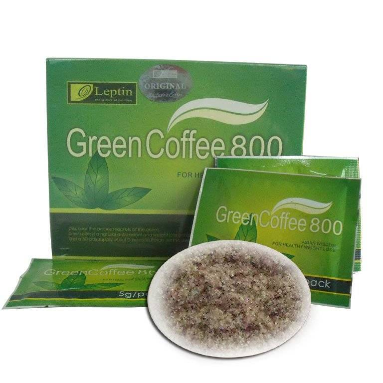 Leptin Green Coffee 800 for weigh loss