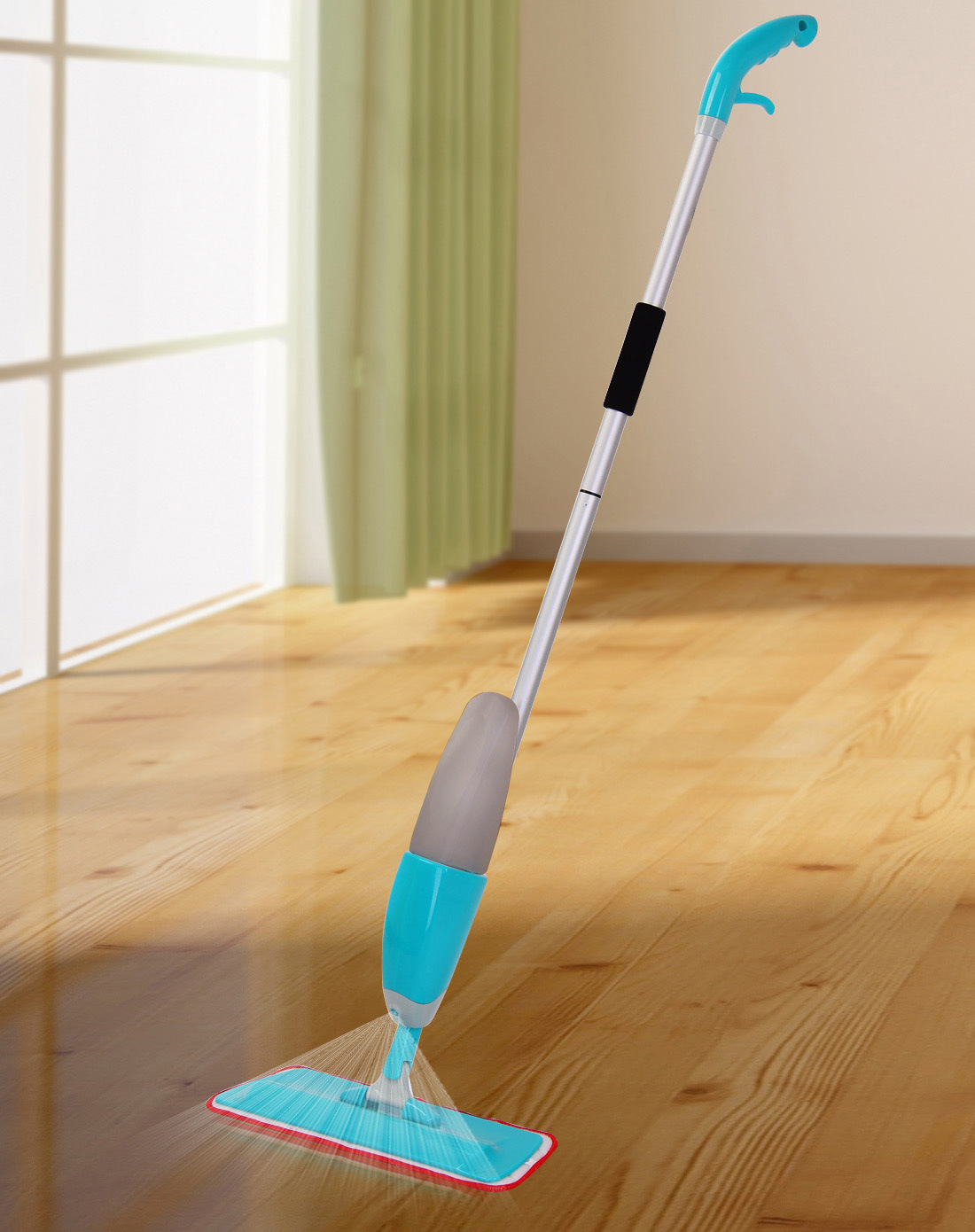 2017 Best Selling Microfiber Flat Floor Cleaning Spary Mop