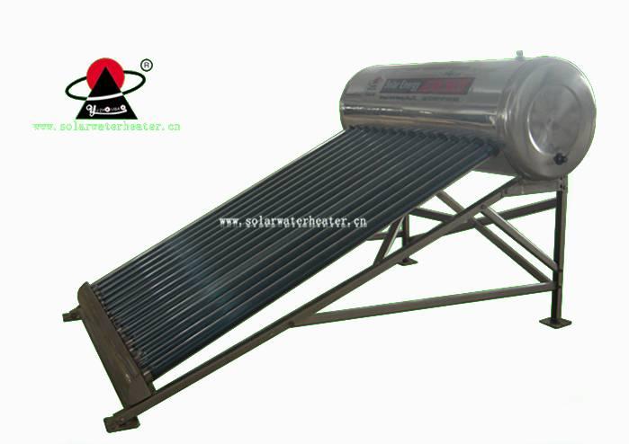 coil copper pipe pressurized solar water heater