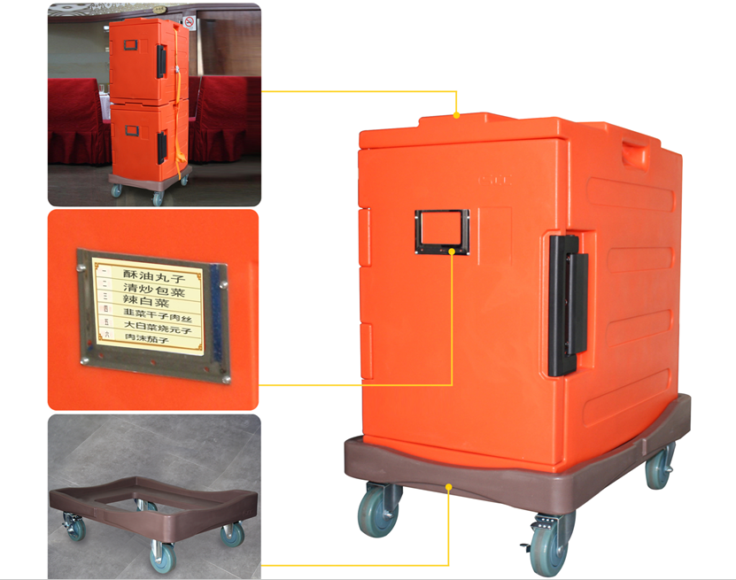 90L food warmers Insulated food cabinet for hotel restaurant