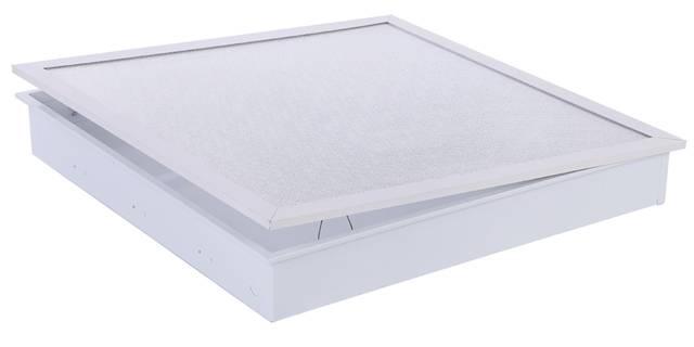 sheet steel clean luminaire cleanroom light tube fixture