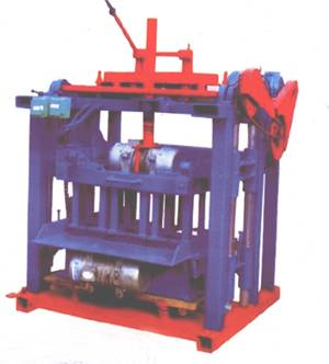 4-35 Type Fixed Hollow Block Making Machine