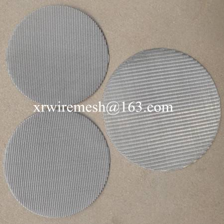 Single layer Wire mesh disc