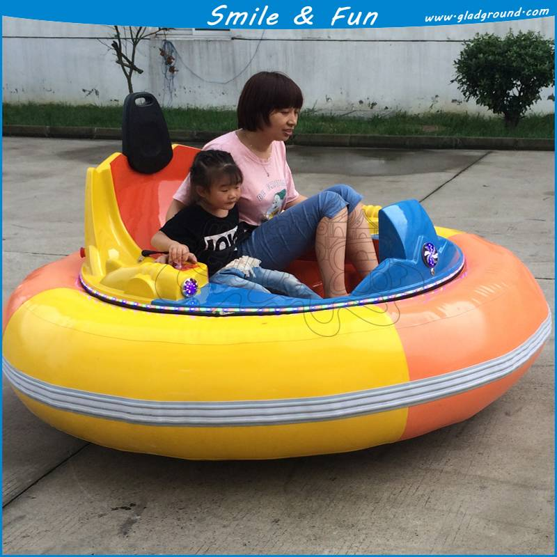 Inflatable bumper car for kids and adult with remote coin system