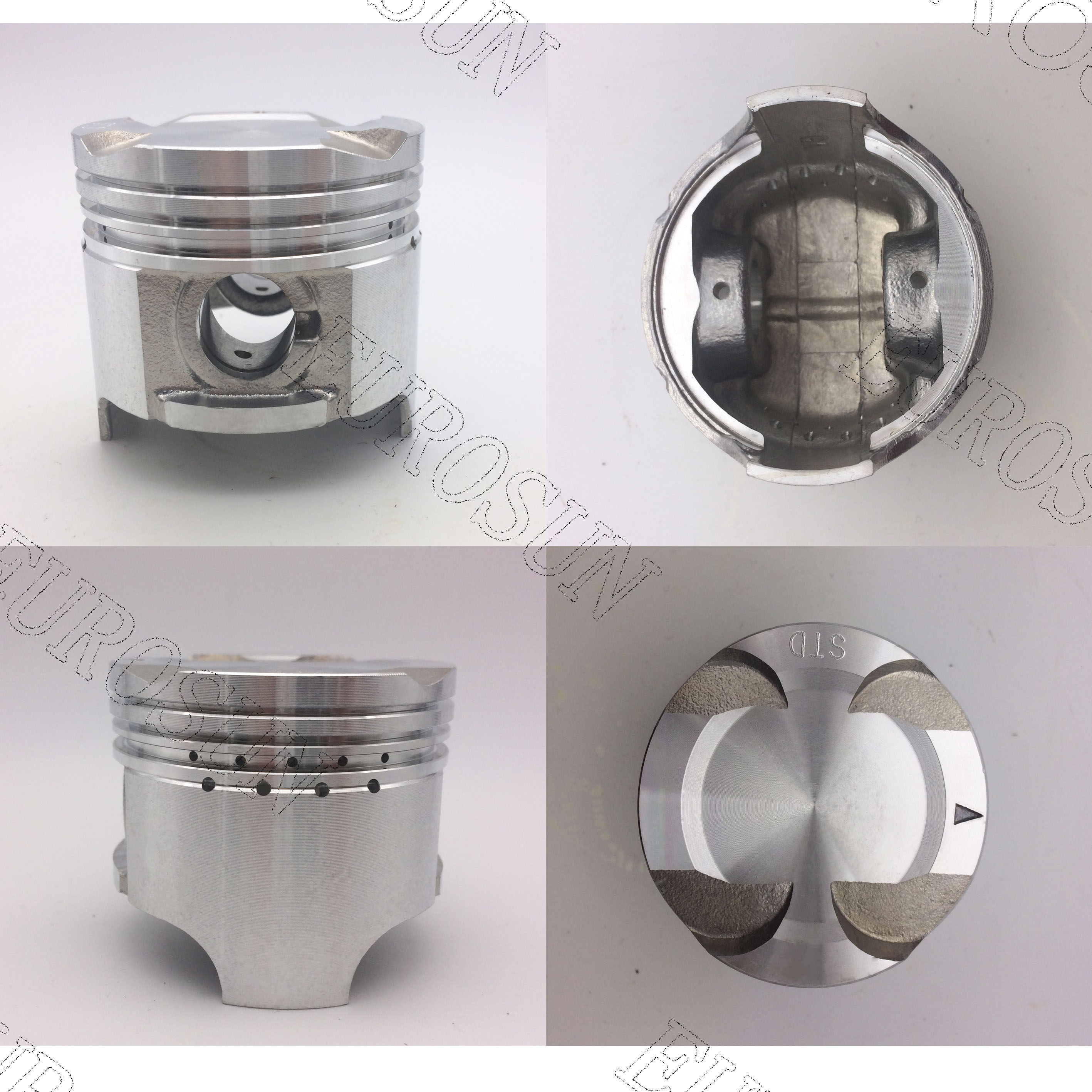 SUZUKI F6A (12111-86050) piston with pin and clips