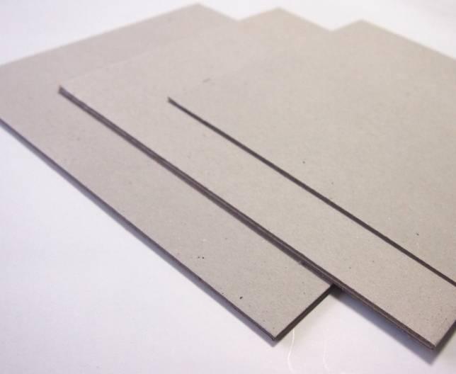 Gray Board Grey Board from Paperboard Factory