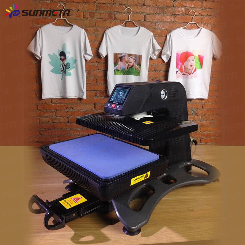 New 3D T-shirt Mug Heat Press sublimation Machine