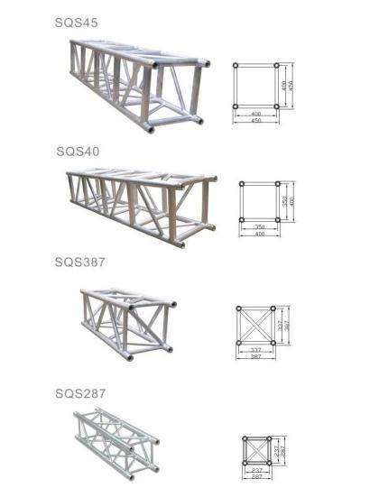 Outdoor aluminum portable stage truss