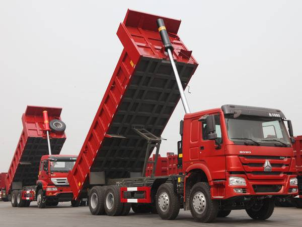 HOWO 8X4 Dump Truck with Day Cab 371 HP