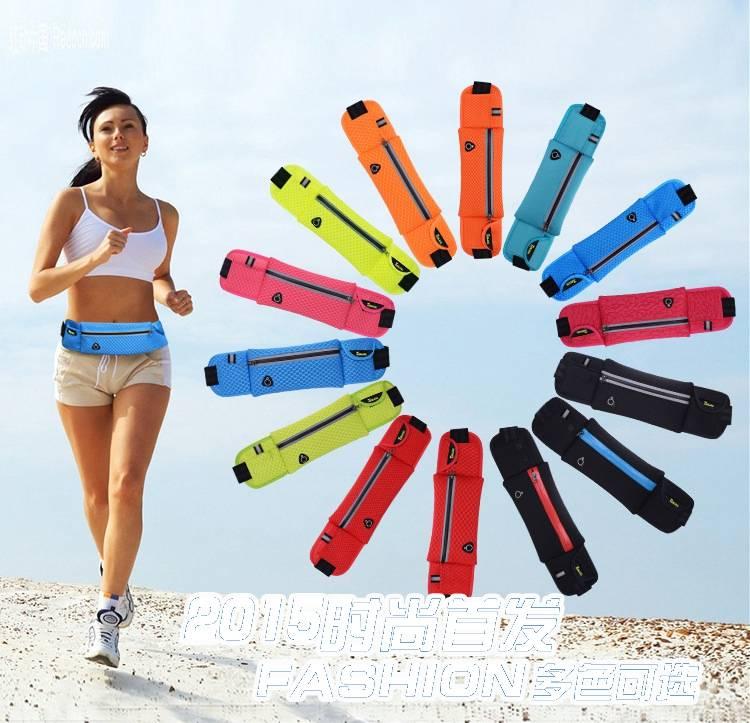 Anti-theft Slim Running Cell Phone Chest Running Gym Bag Women Sports Waist Bag