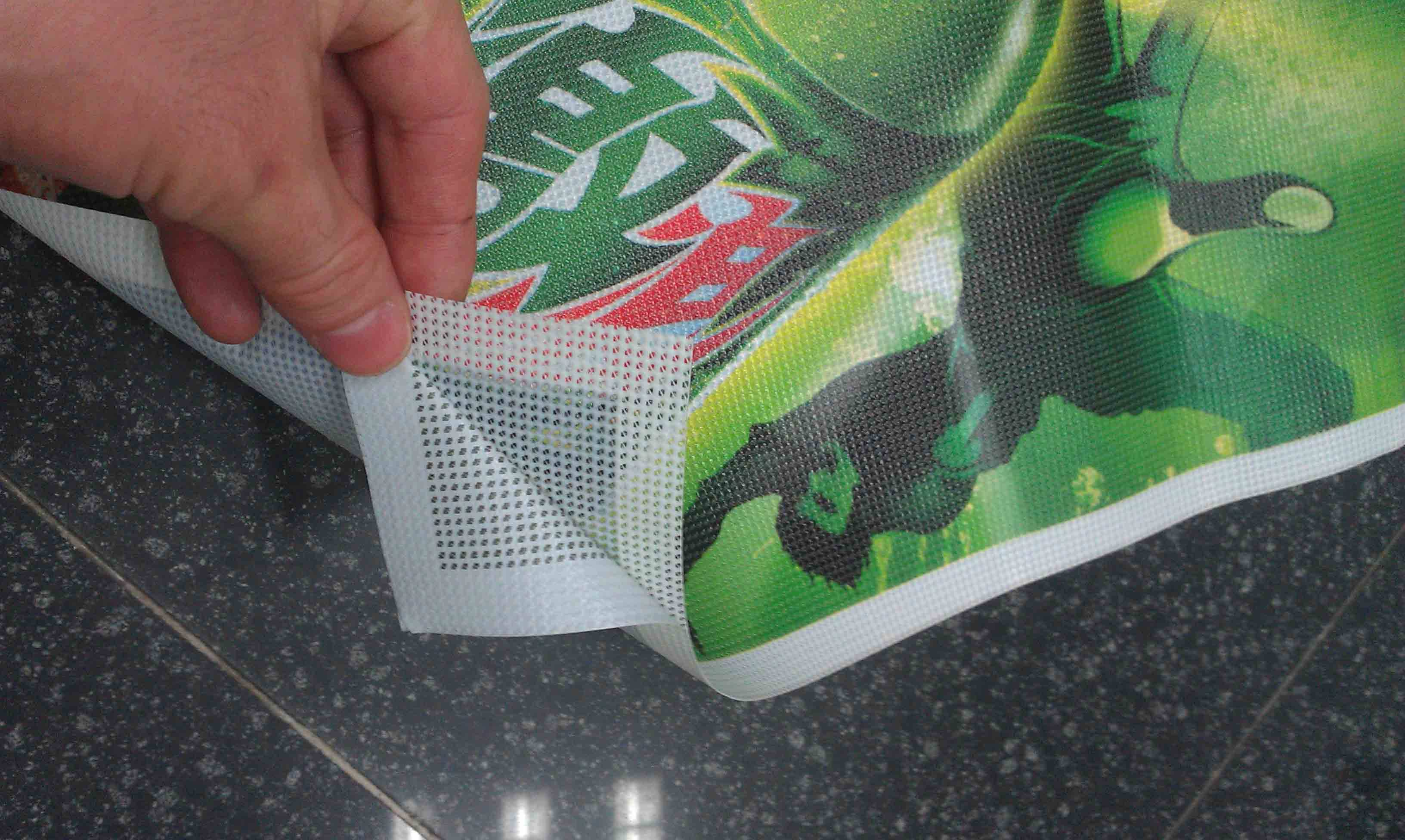 Digital print / screen printed one way vision window sticker