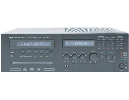 Amplifier PA system PCR-70D/130D