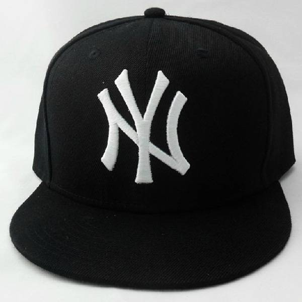 NEW YORK headwear custome 3D embroidery snapback hats