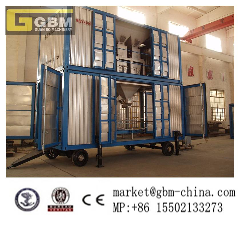 Containerized Mobile Weighing and Bagging hopper