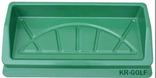 Quality Green Golf Ball Tray