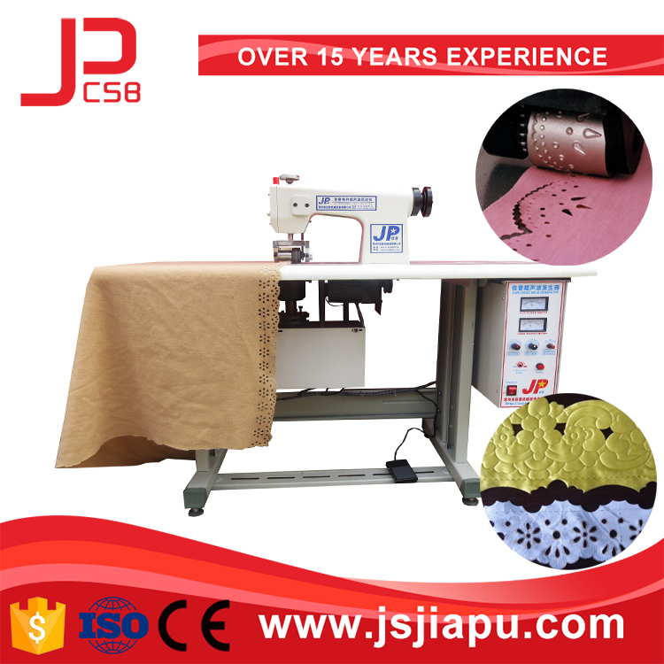JIAPU Ultrasonic lace sewing machine with CE certificate