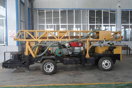 SLY400 small water well drilling rig