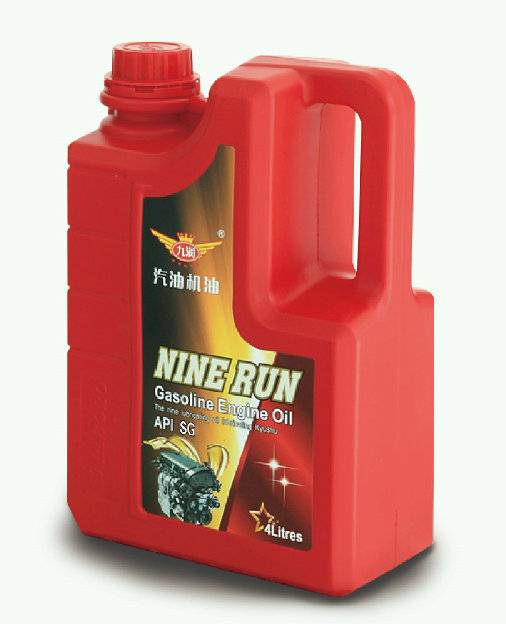 Gasoline engine oil
