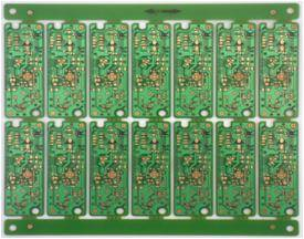 1.0mm thickness Single-Sided Keyboard PCB