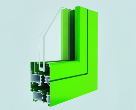 Narrow Sight Lines Aluminium Sliding Wardrobe Door Profiles Length 6000mm