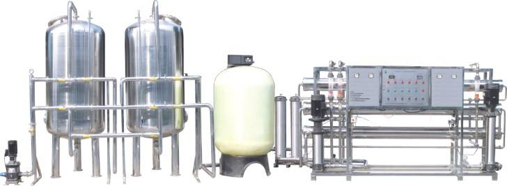 5000L/H RO Water Treatment Equipment / Water Purification Plant
