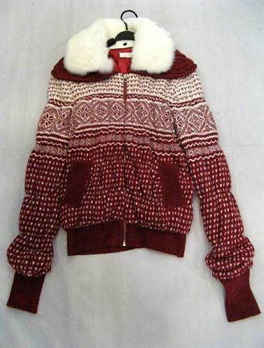 Wool knitwear top Fashion Sweater Outercoat Wholesale fashion clothing