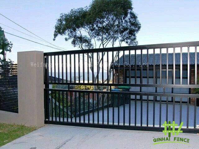 front gate and pedestrian gates Supplier