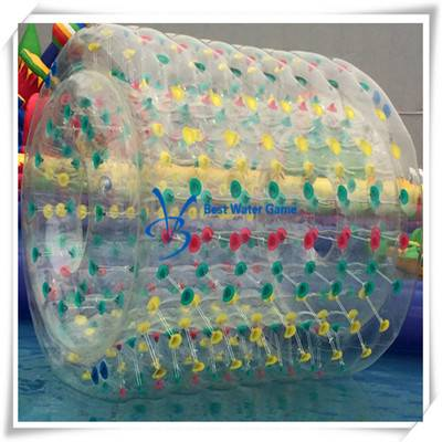 Transparent Water Roller BalI Inflatable Roller Ball 2.5X2m PVC/TPU Materials