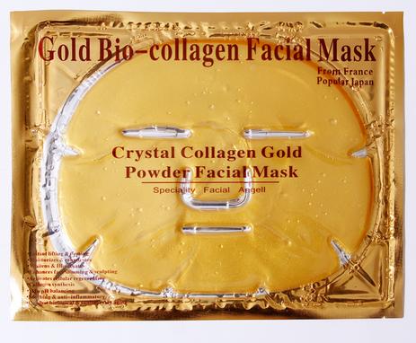 Top Quality Bio Collagen Custom Face Moisturizing 24K gold facial mask