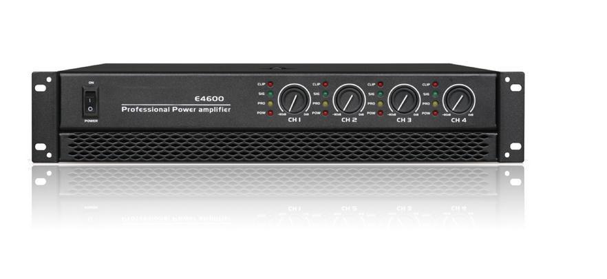 E4 series power amplifiers E-4400/E-4500/E-4600