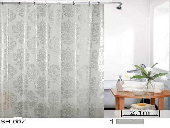 PEVA shower curtain SH-007
