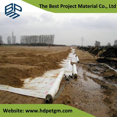 Long Fiber Nonwoven Geotextile Road Fabric