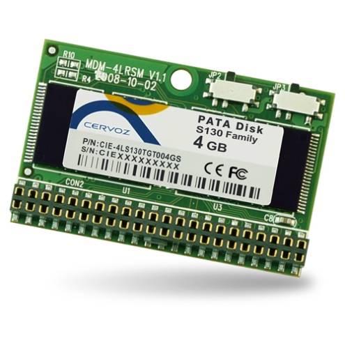 Industrial PATA Disk 44pin H.L. Module S130 4GB SLC