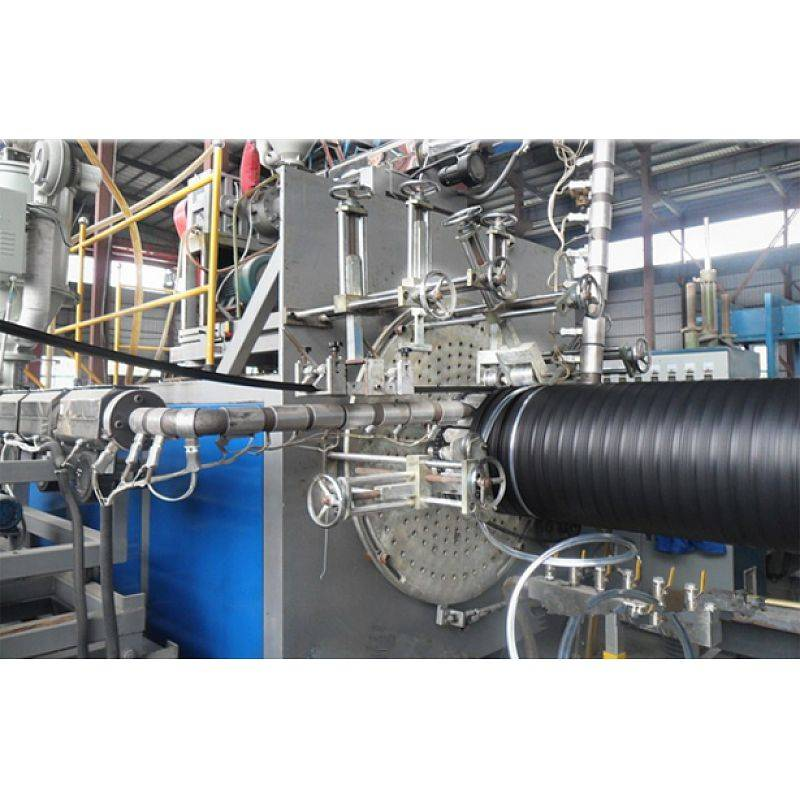 HDPE winding pipe extrusion line