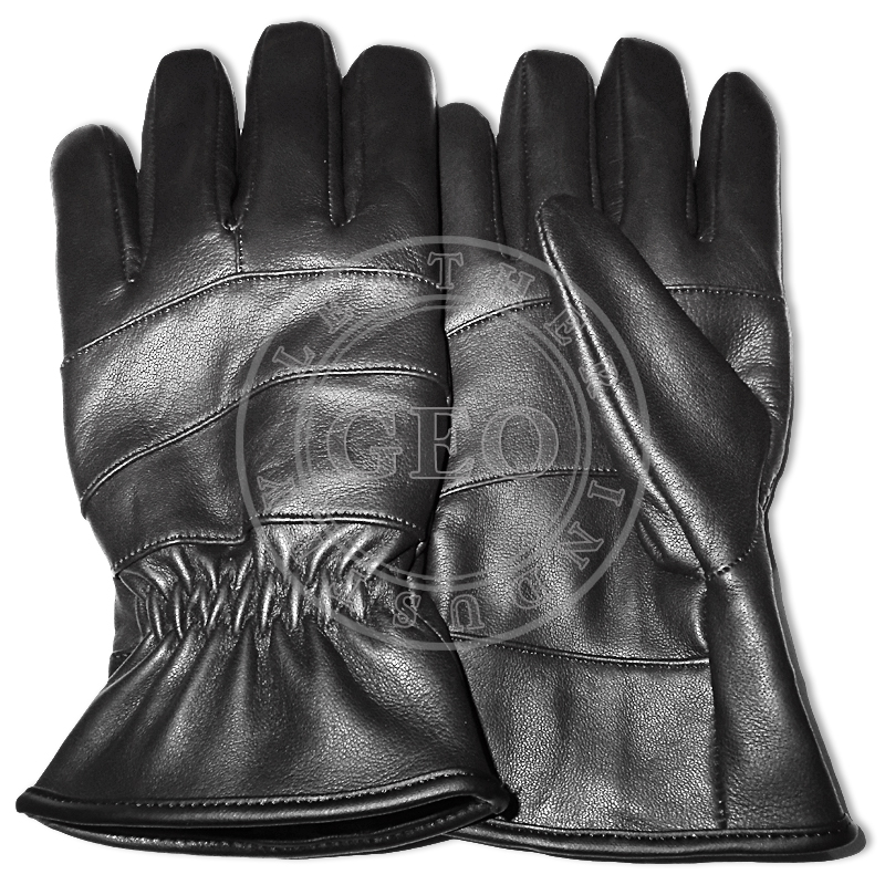 Cheap Price CP Genuine Sheep Leather Winter Gloves