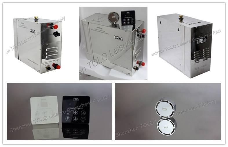 220V/380V sauna stea mbath generator
