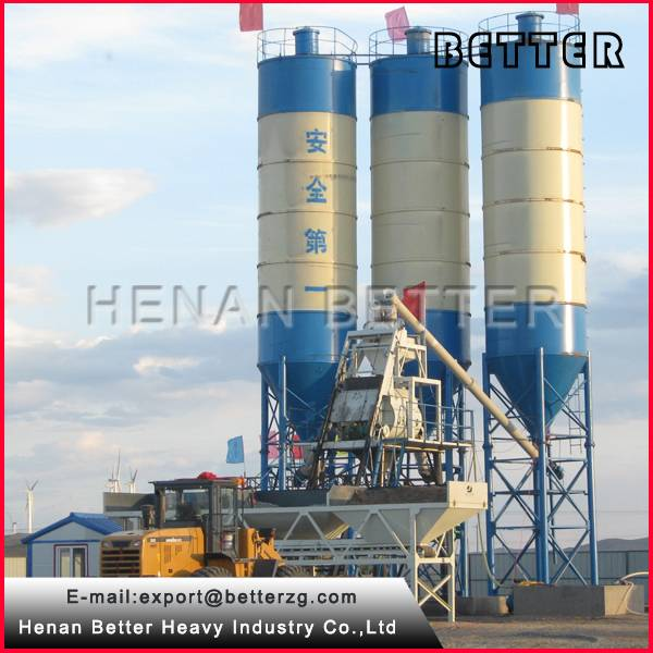 Professional Manufacturer Concrete Batching Plant Best Price for sale 1 Set  (Min. Order)