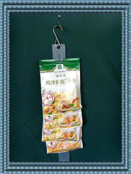offer PP plastic clip strips for hanging small articles and different specifications