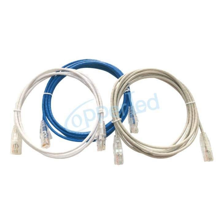 UTP Cat.6 Patch cord 28AWG (Soft & flexible suitable for data center) NEW 28AWG UTP Cat.6 Patch cord