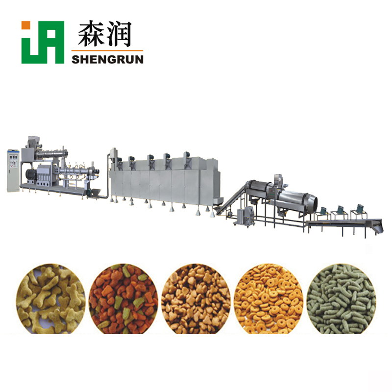 Floating Fish Feed Extruder Machine Sinking Feed Production Line