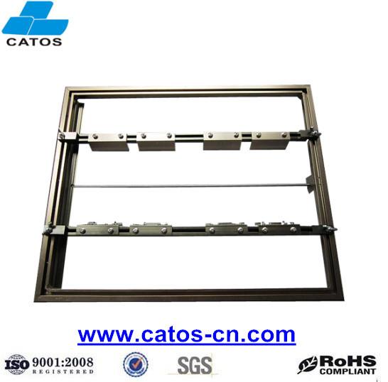 Universal Adjustable Wave Solder Pallets and Frames with Single slot