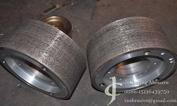 The metal sintered centerless grinding wheel