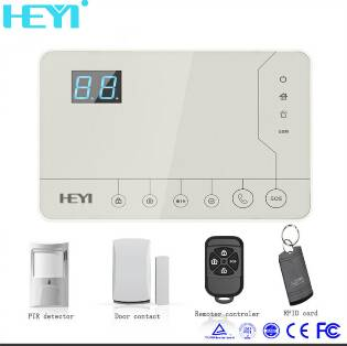 433MHz home use wireless alarm system
