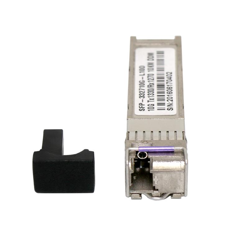 10G SFP+ module single fiber CWDM 1270/1330nm SM 10Km compatible with SFP module hp