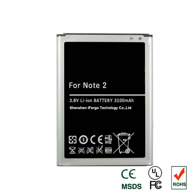 New EB595675LU 3100 mAh Battery for Samsung Galaxy Note 2 II i317 T889 N7100