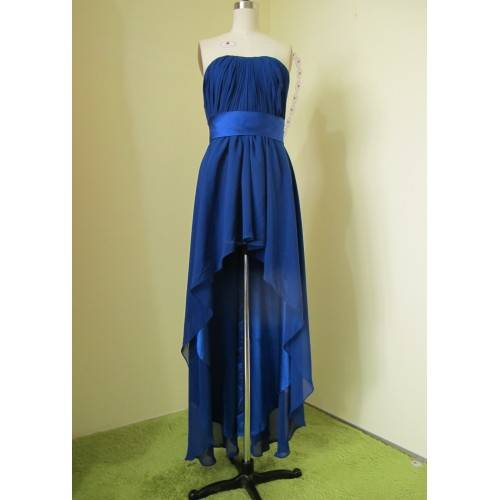 ELEGANT CHIFFON EMPIRE STRAPLESS PROM DRESS/EVENING DRESS P1835