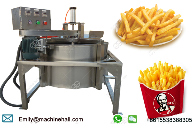 Automatic Continuous Working French Fries De-Oiling Machine for Sale/Stainless Steel French Fries Oi